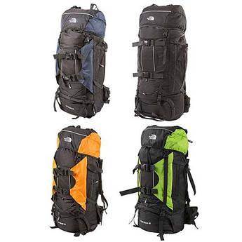 Рюкзак 80л NorthFace (Extreme 80) ,синій, чорний, помаранчевий, зелений.
