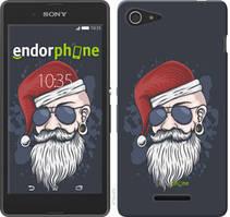 """Чехол на Sony Xperia E3 D2202 Christmas Man """"4712u-672-535"""""""