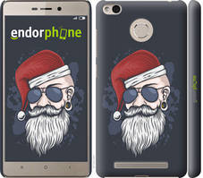"Чехол на Xiaomi Redmi 3s Christmas Man ""4712c-357-535"""
