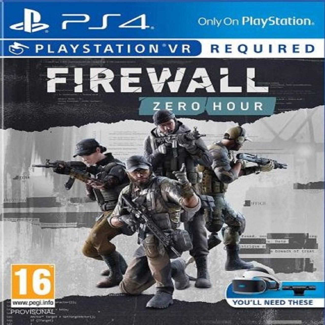 Firewall Zero Hour VR (русская версия) PS4