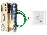 Двужильный нагревательный кабель в мате Латвия  Ryxon HM-200 (7 м.кв) 1400 вт Серия  HOF 320
