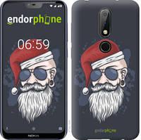 "Чехол на Nokia 6.1 Plus Christmas Man ""4712u-1539-535"""