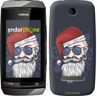 "Чехол на Nokia Asha 305 / 306 Christmas Man ""4712u-248-535"""
