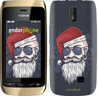 "Чехол на Nokia Asha 308/309 Christmas Man ""4712u-286-535"""