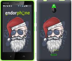 """Чехол на Nokia X2 Dual SIM Christmas Man """"4712u-469-535"""""""