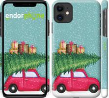"Чехол на iPhone 11 Машина с подарками ""4711c-1722-535"""