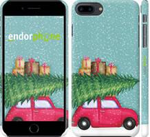 "Чехол на iPhone 8 Plus Машина с подарками ""4711c-1032-535"""
