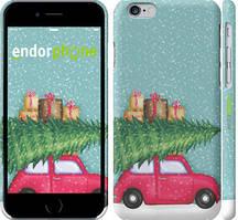 "Чехол на iPhone 6 Машина с подарками ""4711c-45-535"""