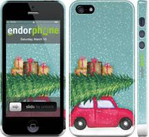 "Чехол на iPhone 5s Машина с подарками ""4711c-21-535"""