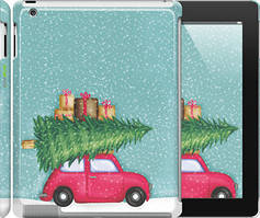 """Чехол на iPad 2/3/4 Машина с подарками """"4711c-25-535"""""""