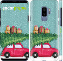 "Чехол на Samsung Galaxy S9 Plus Машина с подарками ""4711c-1365-535"""
