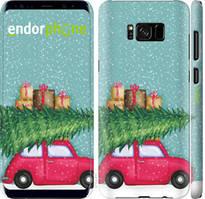 "Чехол на Samsung Galaxy S8 Plus Машина с подарками ""4711c-817-535"""