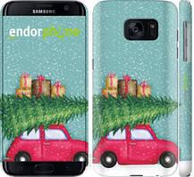 "Чехол на Samsung Galaxy S7 G930F Машина с подарками ""4711c-106-535"""