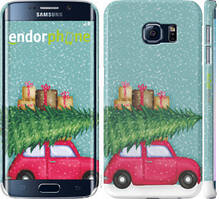 "Чехол на Samsung Galaxy S6 Edge G925F Машина с подарками ""4711c-83-535"""