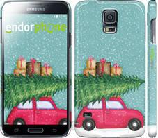"Чехол на Samsung Galaxy S5 Duos SM G900FD Машина с подарками ""4711c-62-535"""