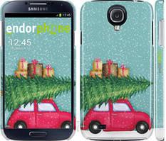 """Чехол на Samsung Galaxy S4 i9500 Машина с подарками """"4711c-13-535"""""""