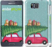 "Чехол на Samsung Galaxy Alpha G850F Машина с подарками ""4711c-65-535"""