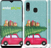 "Чохол на Samsung Galaxy A20e A202F Машина з подарунками ""4711c-1709-535"""