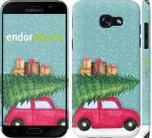 "Чехол на Samsung Galaxy A5 (2017) Машина с подарками ""4711c-444-535"""
