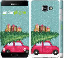"""Чехол на Samsung Galaxy A7 (2016) A710F Машина с подарками """"4711c-121-535"""""""