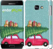 """Чехол на Samsung Galaxy A3 (2016) A310F Машина с подарками """"4711c-159-535"""""""