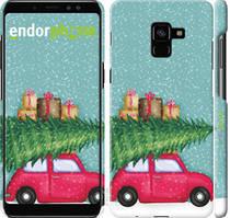 """Чехол на Samsung Galaxy A8 Plus 2018 A730F Машина с подарками """"4711c-1345-535"""""""