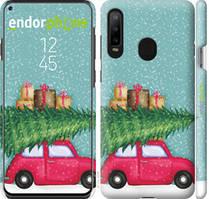 "Чехол на Samsung Galaxy A8S Машина с подарками ""4711c-1636-535"""