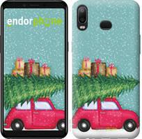 """Чехол на Samsung Galaxy A6s Машина с подарками """"4711u-1604-535"""""""
