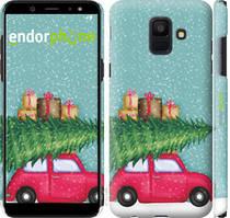 "Чохол на Samsung Galaxy A6 2018 Машина з подарунками ""4711c-1480-535"""