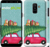 "Чехол на Samsung Galaxy A6 Plus 2018 Машина с подарками ""4711c-1495-535"""