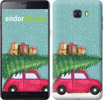 "Чехол на Samsung Galaxy C9 Pro Машина с подарками ""4711u-720-535"""