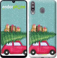 """Чехол на Samsung Galaxy M30 Машина с подарками """"4711u-1682-535"""""""