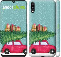 "Чехол на Samsung Galaxy M10 Машина с подарками ""4711c-1661-535"""