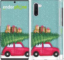 "Чехол на Samsung Galaxy Note 10 Plus Машина с подарками ""4711c-1756-535"""