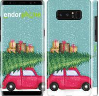 "Чехол на Samsung Galaxy Note 8 Машина с подарками ""4711c-1020-535"""