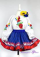 Детский украинский костюм в современном стиле (прокат)