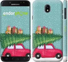 "Чехол на Samsung Galaxy J7 J730 (2017) Машина с подарками ""4711c-786-535"""