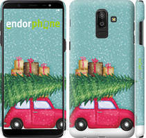 "Чехол на Samsung Galaxy J8 2018 Машина с подарками ""4711c-1511-535"""