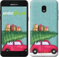 """Чехол на Samsung Galaxy J7 2018 Машина с подарками """"4711u-1502-535"""""""