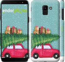 "Чехол на Samsung Galaxy J6 2018 Машина с подарками ""4711c-1486-535"""