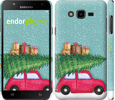 "Чехол на Samsung Galaxy J7 Neo J701F Машина с подарками ""4711c-1402-535"""