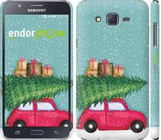"Чехол на Samsung Galaxy J7 J700H Машина с подарками ""4711c-101-535"""
