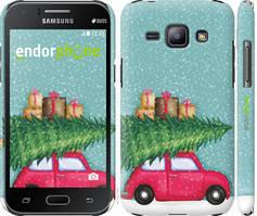 "Чехол на Samsung Galaxy J1 J100H Машина с подарками ""4711c-104-535"""