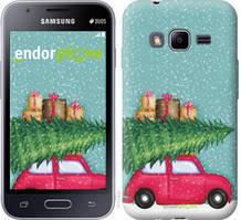 """Чехол на Samsung Galaxy J1 Mini Prime J106 Машина с подарками """"4711u-632-535"""""""
