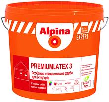 Alpina EXPERT Premiumlatex 3 E.L.F. B1 10л. Матовая краска Альпина експерт премиум латекс 3