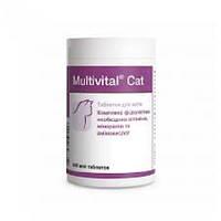 Долфос Мультивитал Кэт (Multivital Cat) витаминно-минеральный комплекс для кошек, 500 таб., фото 1
