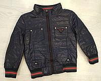 Куртка ЭКОкожа для мальчика р. 92-110, фото 1