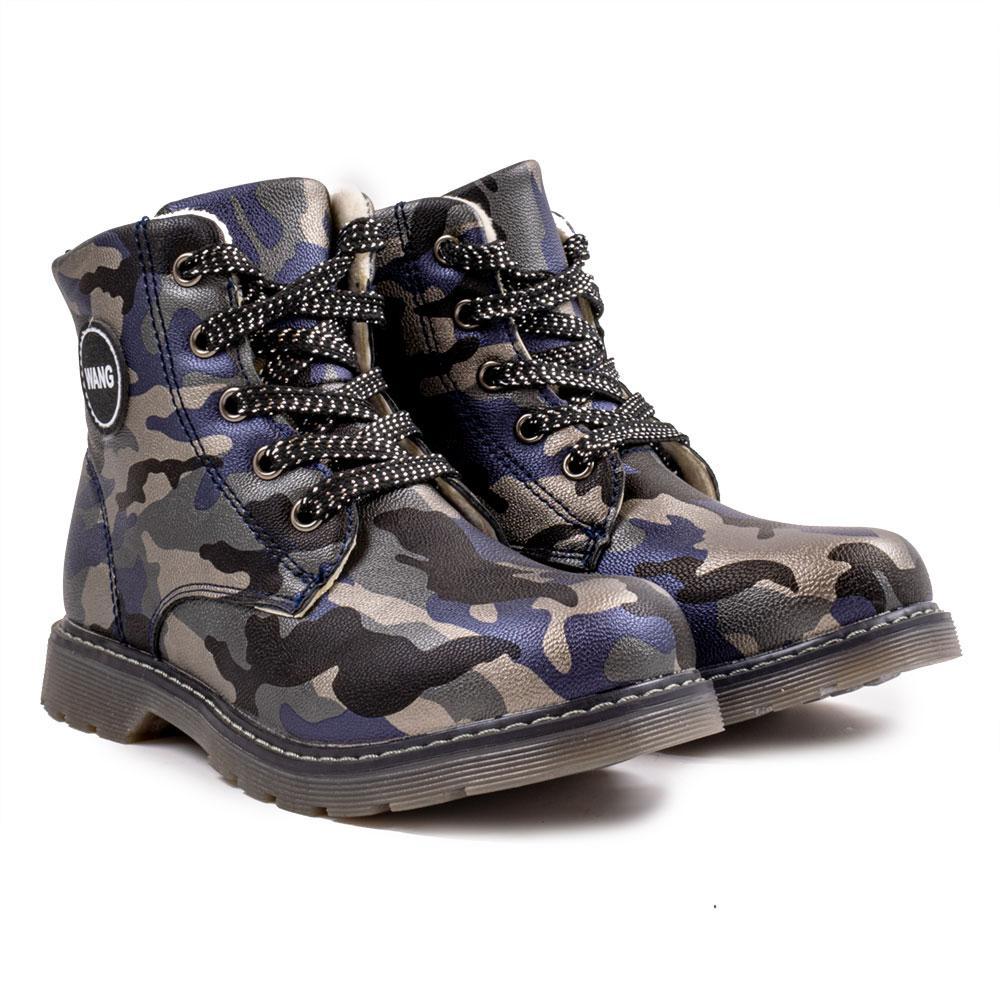"""Ботинки для мальчиков """"CBT"""" 29  синий L005-2"""