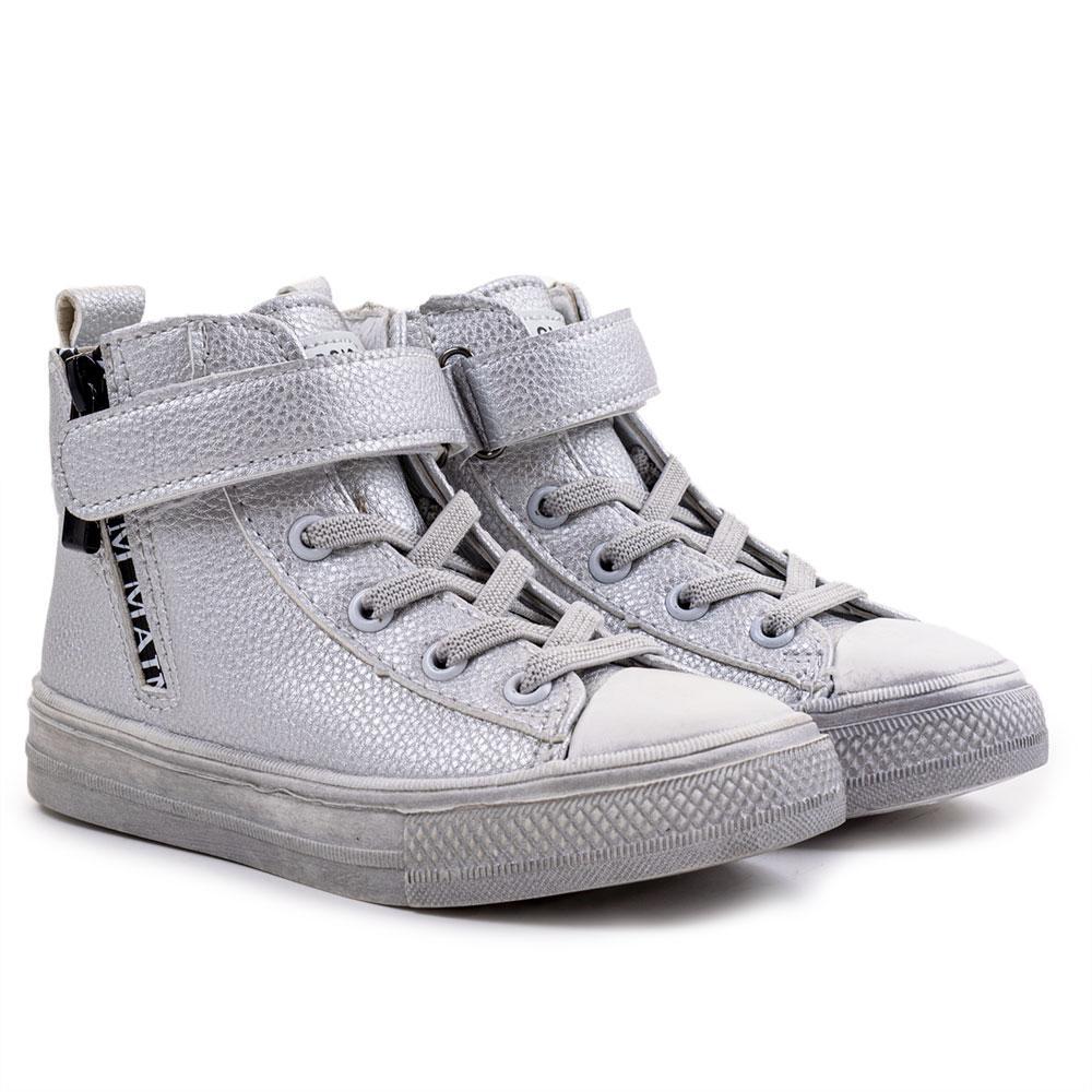 Ботинки для девочек Jong Golf 29  серебро BS606-19