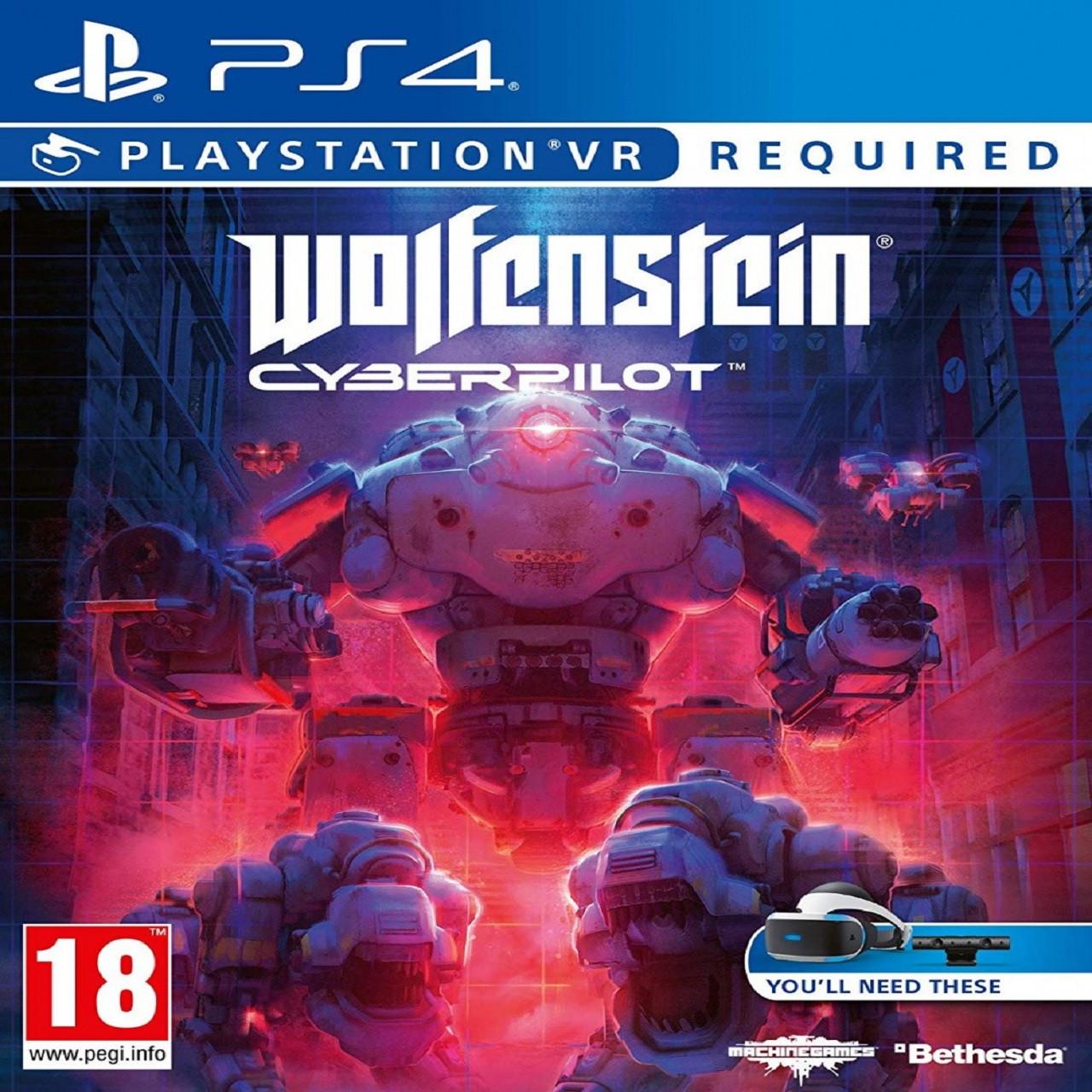 Wolfenstein Cyberpilot VR (російська версія) PS4